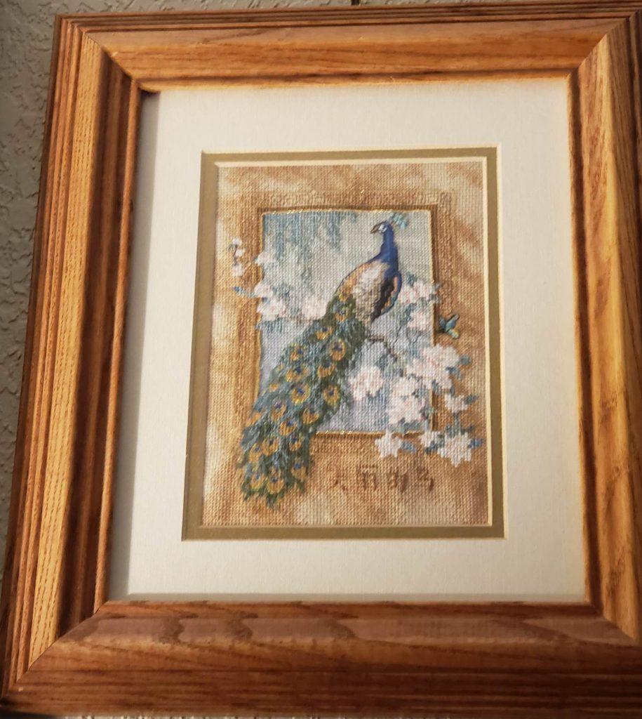 Cross Stitch Peacock by MsChristy