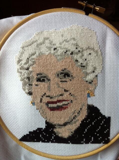 Cross Stitch Portraiture